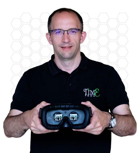 Homme Time Prod propose de tester un casque de réalité virtuel
